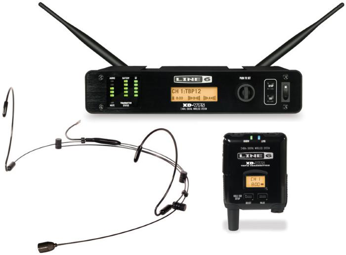 Line 6 XD-V75HS Digital Wireless Headset Microphone System