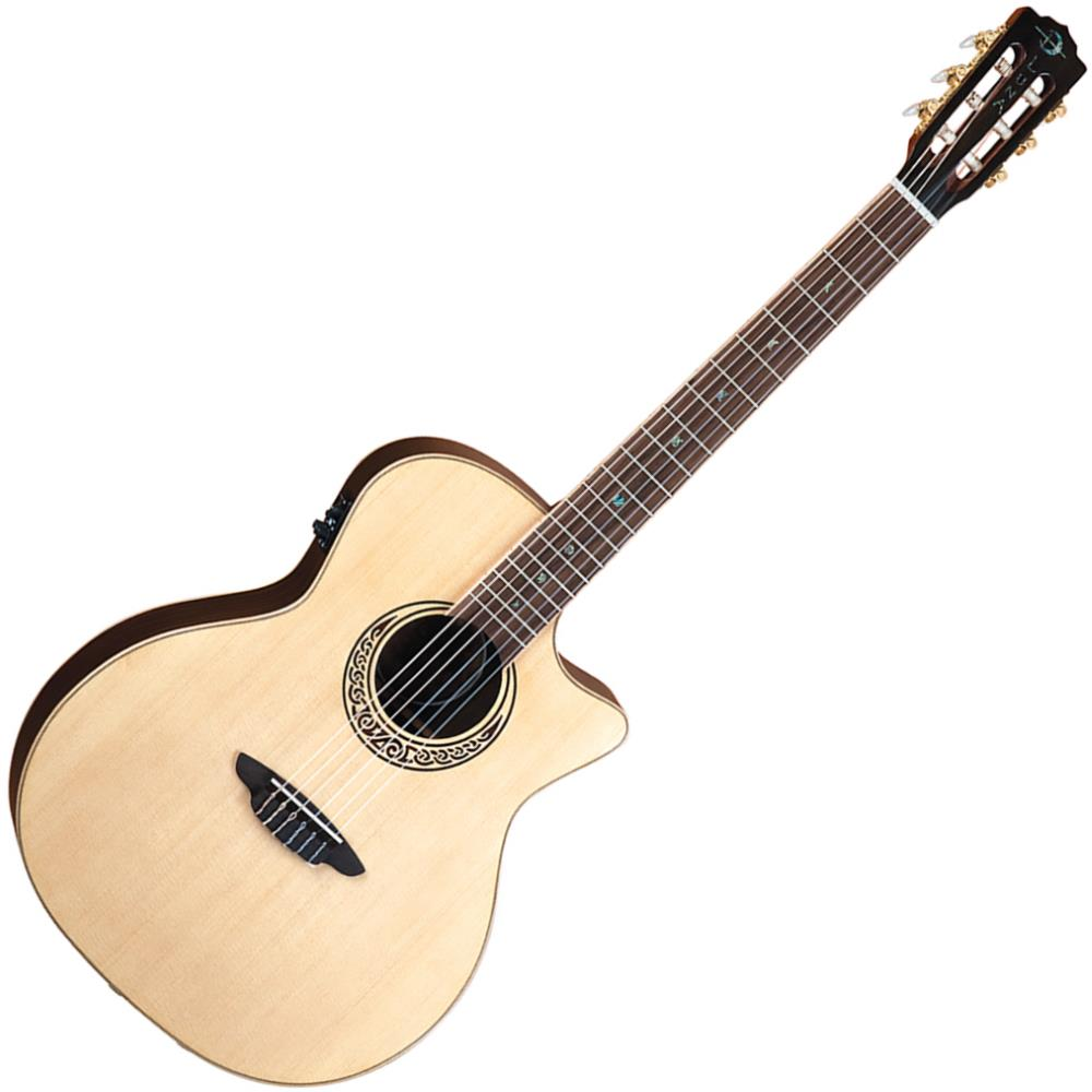 Luna Muse Nylon String Acoustic-Electric Guitar