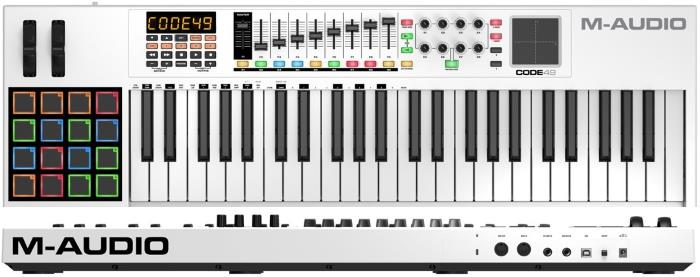 M-Audio Code 49 49-Key USB MIDI Keyboard Controller