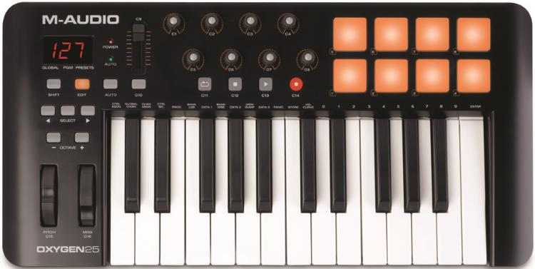 M-Audio Oxygen 25 MKIV 25-Key USB MIDI Keyboard Controller