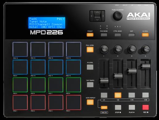Akai Professional MPD226 MIDI Pad Controller