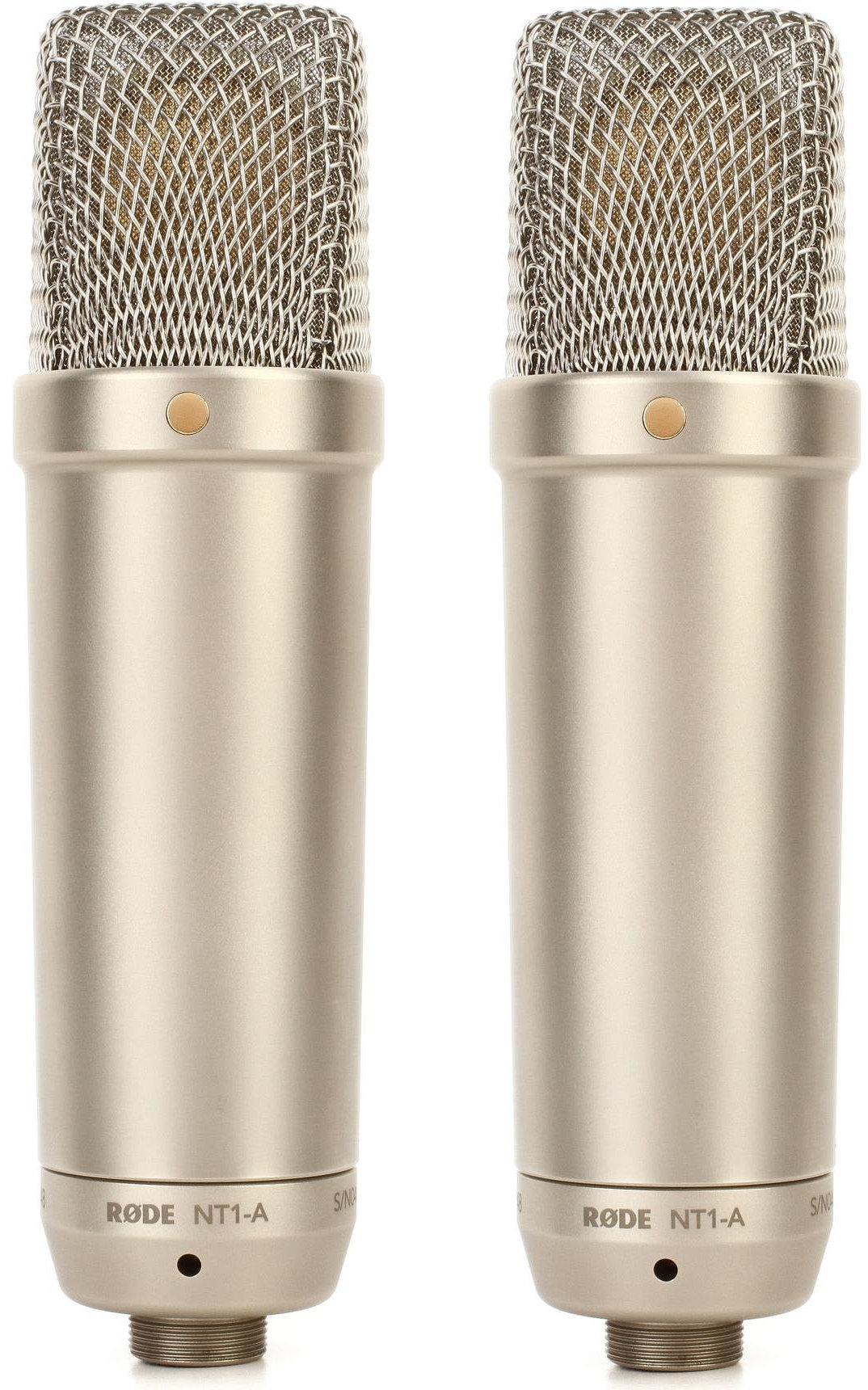 Rode NT1-A-MP Matched Stereo Pair Large-diaphragm Condenser Microphones