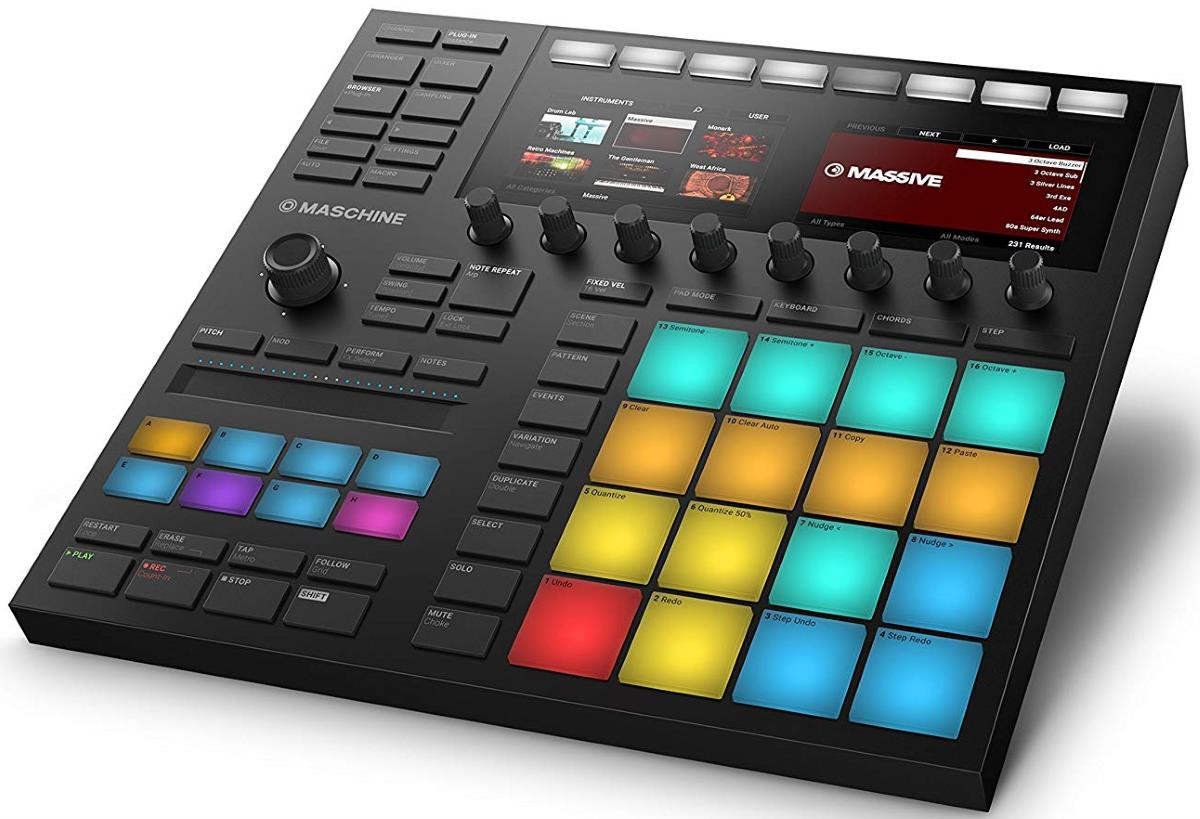 the best midi pad controllers 2019 gearank. Black Bedroom Furniture Sets. Home Design Ideas