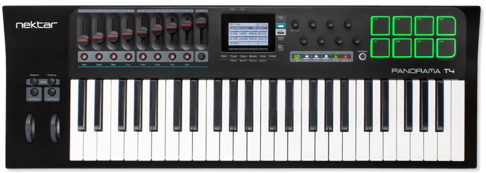 Nektar Panorama T4 49-Key MIDI Keyboard Controller