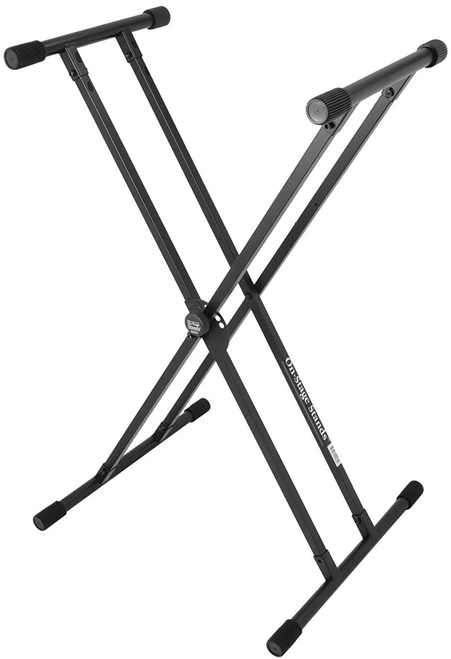On-Stage KS8191XX Lok-Tight Double X Keyboard Stand
