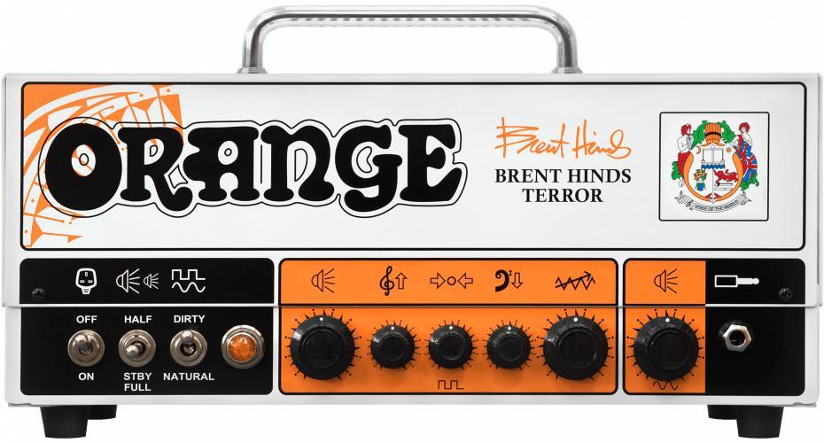 Orange Amplifiers Brent Hinds Terror Head