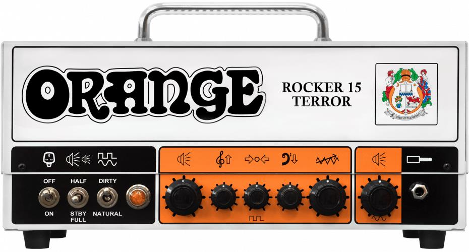 Orange Amplifiers Rocker 15 Terror Guitar Tube Amp Head - 15-Watts