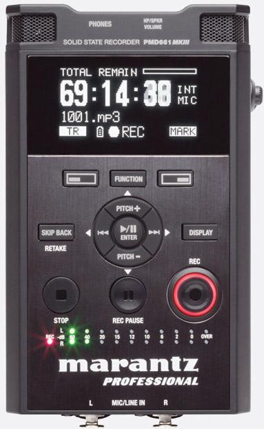 Marantz PMD661 MKII Handheld Recorder