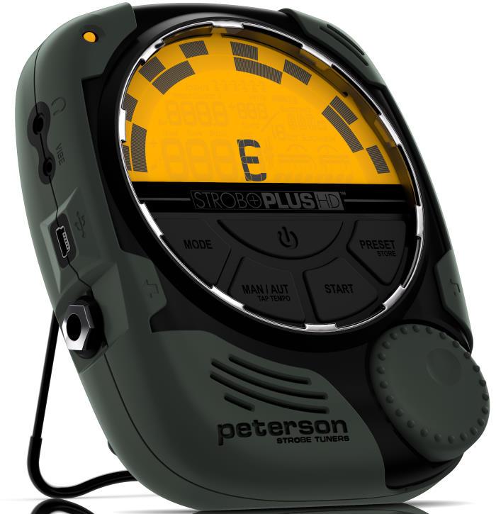 Peterson StroboPlus HD Strobe Tuner