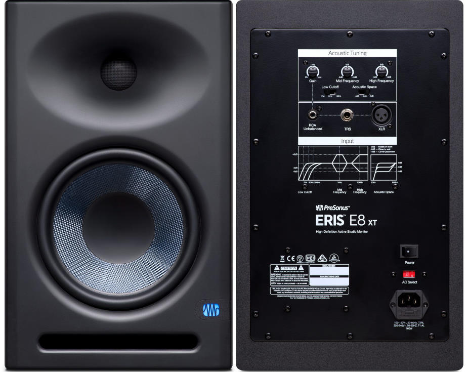 "Presonus Eris E8 XT 8"" Powered Studio Monitor"