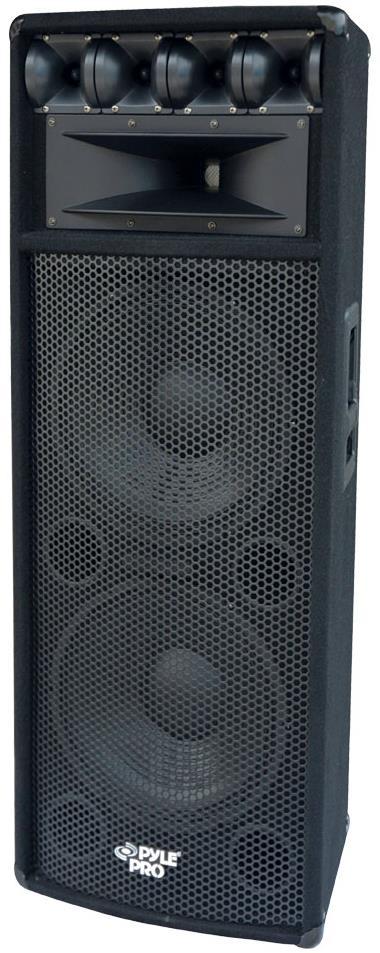 "Pyle Pro PADH212 2x12"" 1600W Passive PA Speaker"