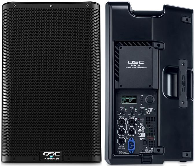 "QSC K10.2 2000W 10"" Powered PA Speaker"