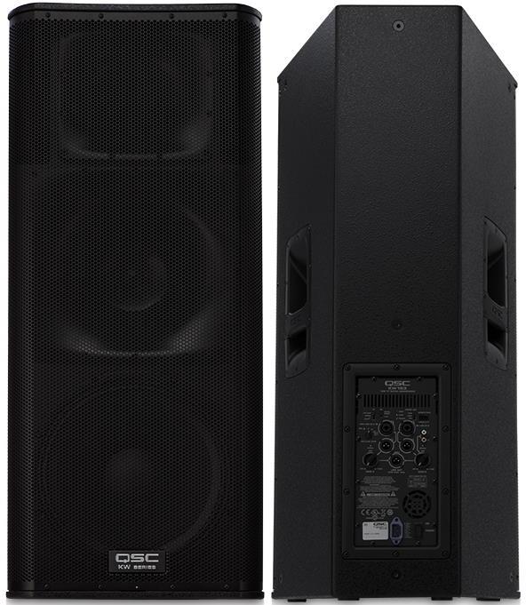 "QSC KW153 3-way 1000W 15"" Powered PA Speaker"