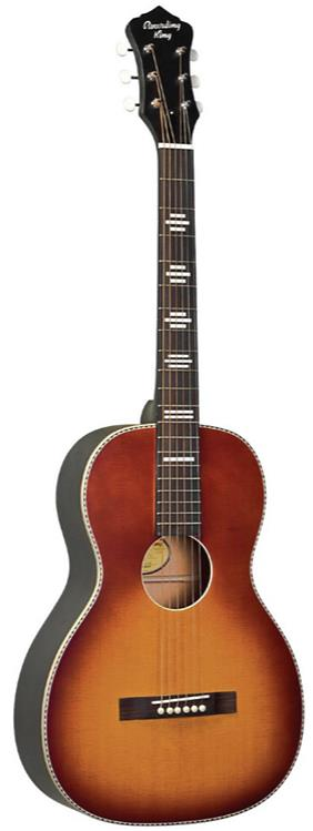 Recording King RPS-7-FE3 Acoustic-Electric Parlor Guitar