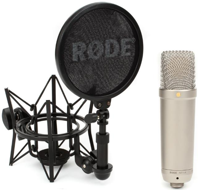 Rode NT1-A Large-diaphragm Cardioid Condenser Microphone