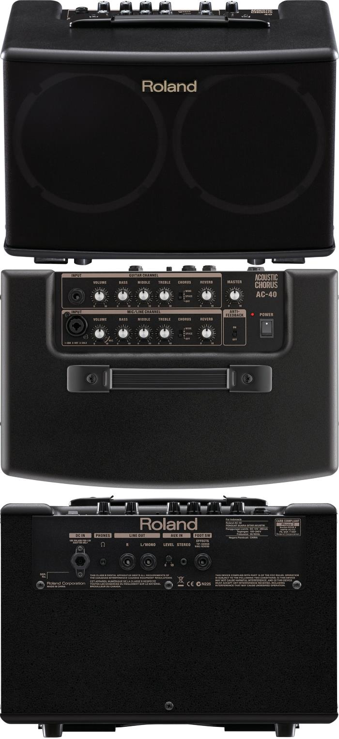 Roland AC-40 Stereo Acoustic Amp