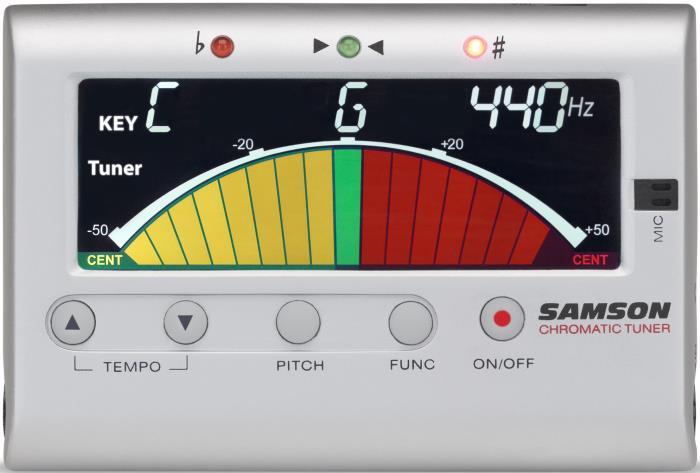 Samson CM40 Chromatic Tuner & Metronome