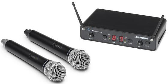 Samson Concert 288 Handheld - Dual-Channel Wireless Microphone System