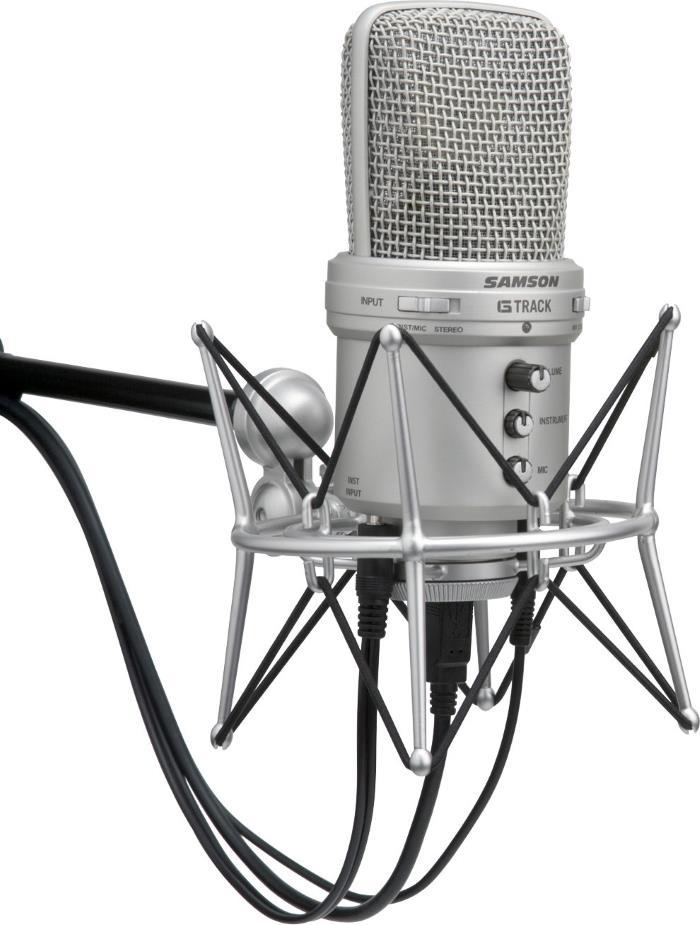 Samson G-Track Large-diaphragm Condenser USB Microphone