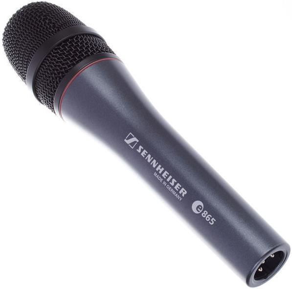 Sennheiser e865 Handheld Supercardioid Condenser Microphone