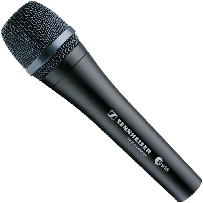 the best live vocal mics 79 to 1000 gearank sennheiser e945 dynamic supercardioid handheld microphone