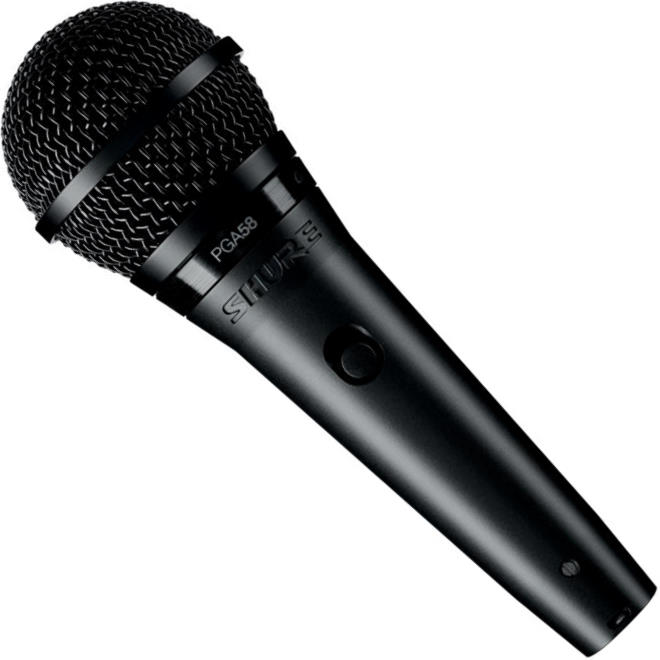 Shure PGA58 Cardioid Dynamic Handheld Vocal Microphone