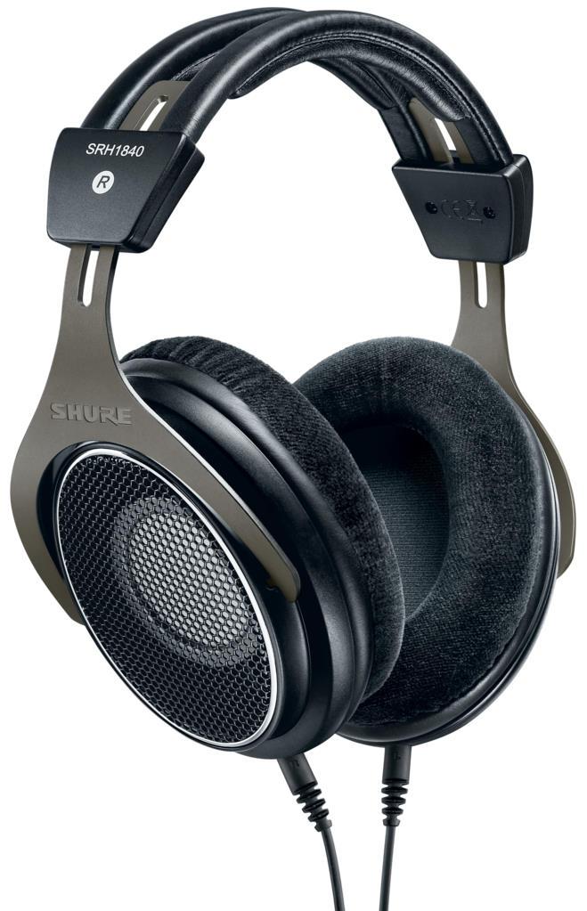 Shure SRH1840 Open-Back Studio Headphones