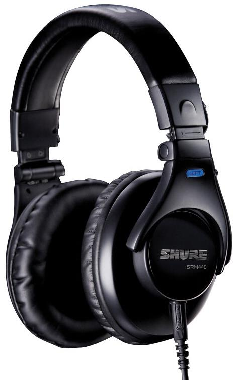 Shure SRH440 Studio Closed-Back Headphones