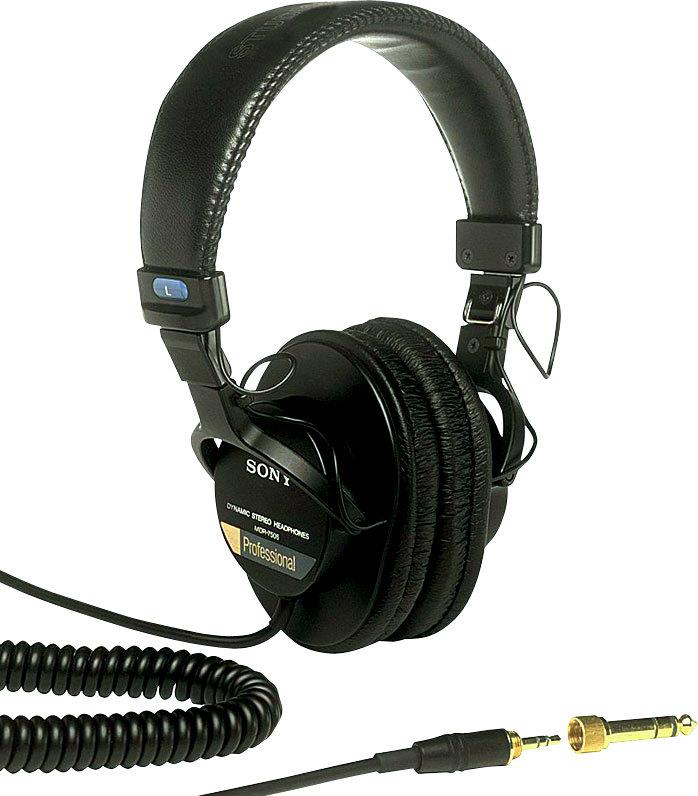 Sony MDR-7506 Closed-Back Headphones