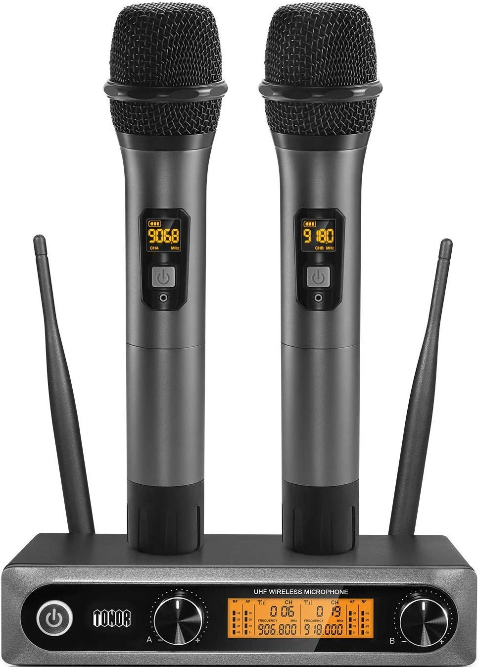 TONOR TW-820 Dual Handheld Wireless Microphone System
