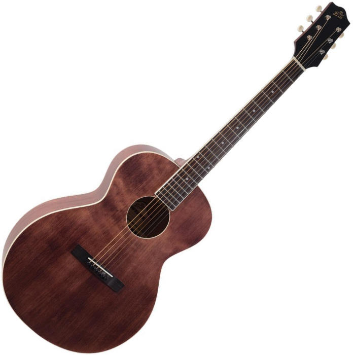 The Loar LH-204 Brownstone Small Body 6-String Acoustic Guitar