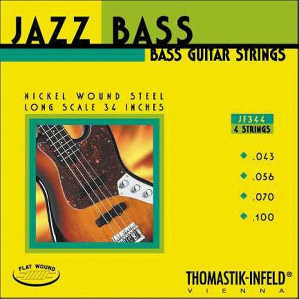 Thomastik JF344 Flatwound Long Scale Jazz Bass Guitar Strings