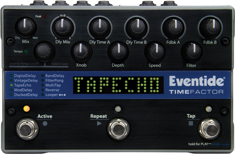 Eventide TimeFactor Twin Digital Delay Pedal