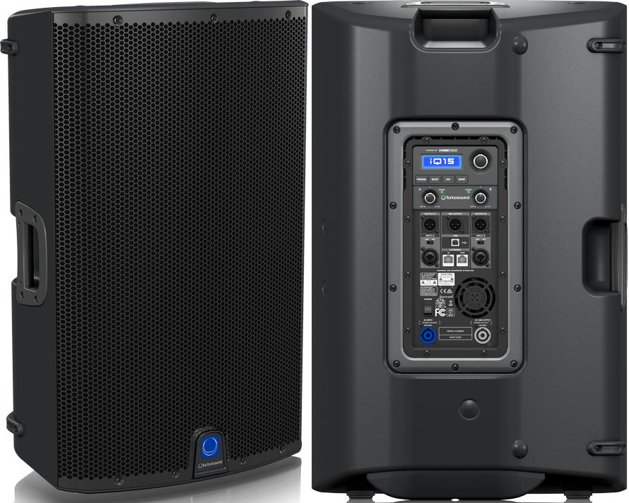 "Turbosound iQ15 - 15"" 2-Way Powered PA Speaker"
