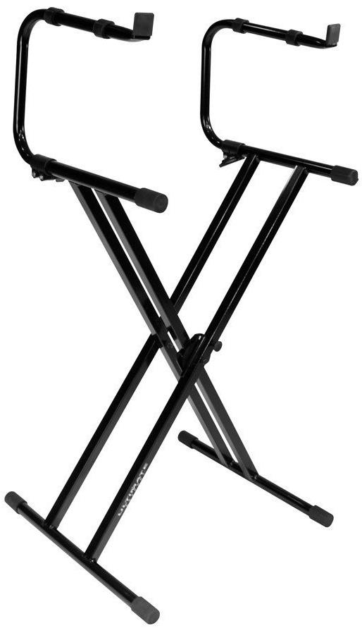 Ultimate Support IQ-2200 Double Braced 2 Tier Keyboard Stand