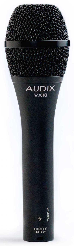 Audix VX10 Condenser Cardioid Handheld Microphone