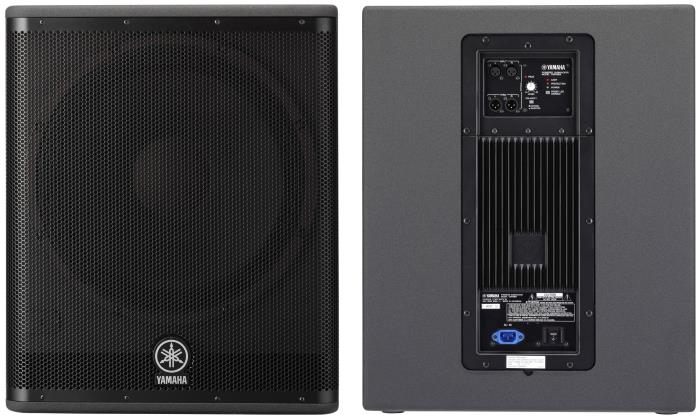 "Yamaha DSR118W 800W 18"" Powered Subwoofer"