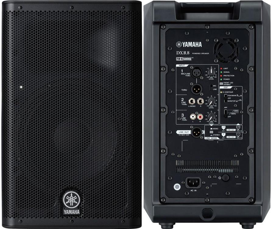 Yamaha DXR8 Powered PA Speaker