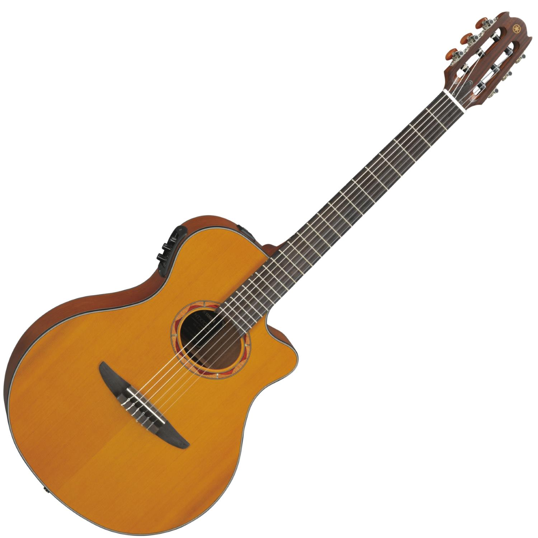 Yamaha NTX700C Acoustic-Electric Cutaway Nylon String Guitar