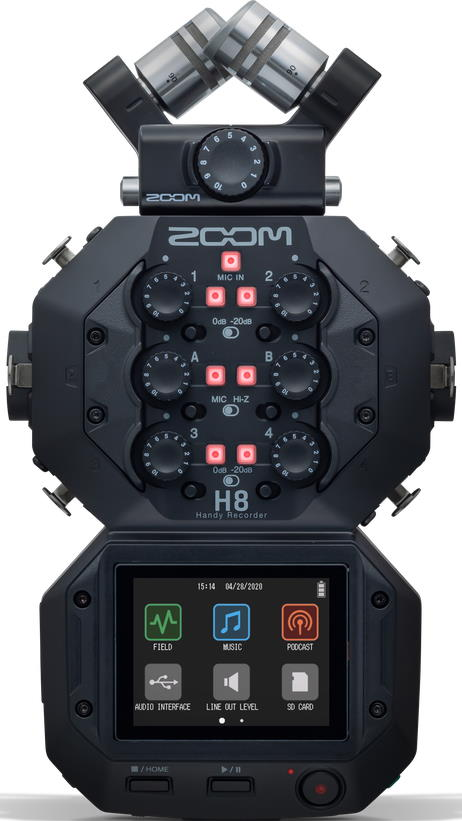 Zoom H8 8-Input Handheld Recorder