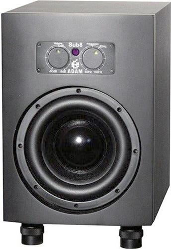 """ADAM Audio Sub8 8.5"""" Powered Studio Subwoofer"""