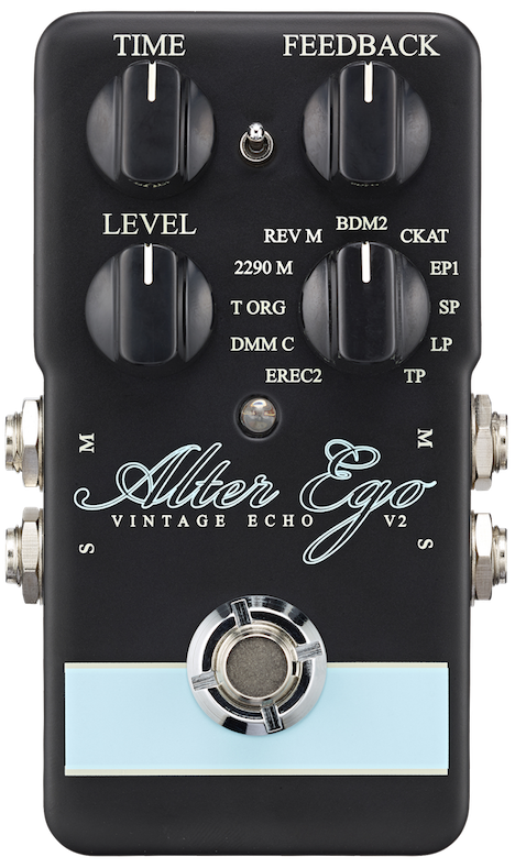 TC Electronic Alter Ego V2 Vintage Echo Digital Delay Pedal