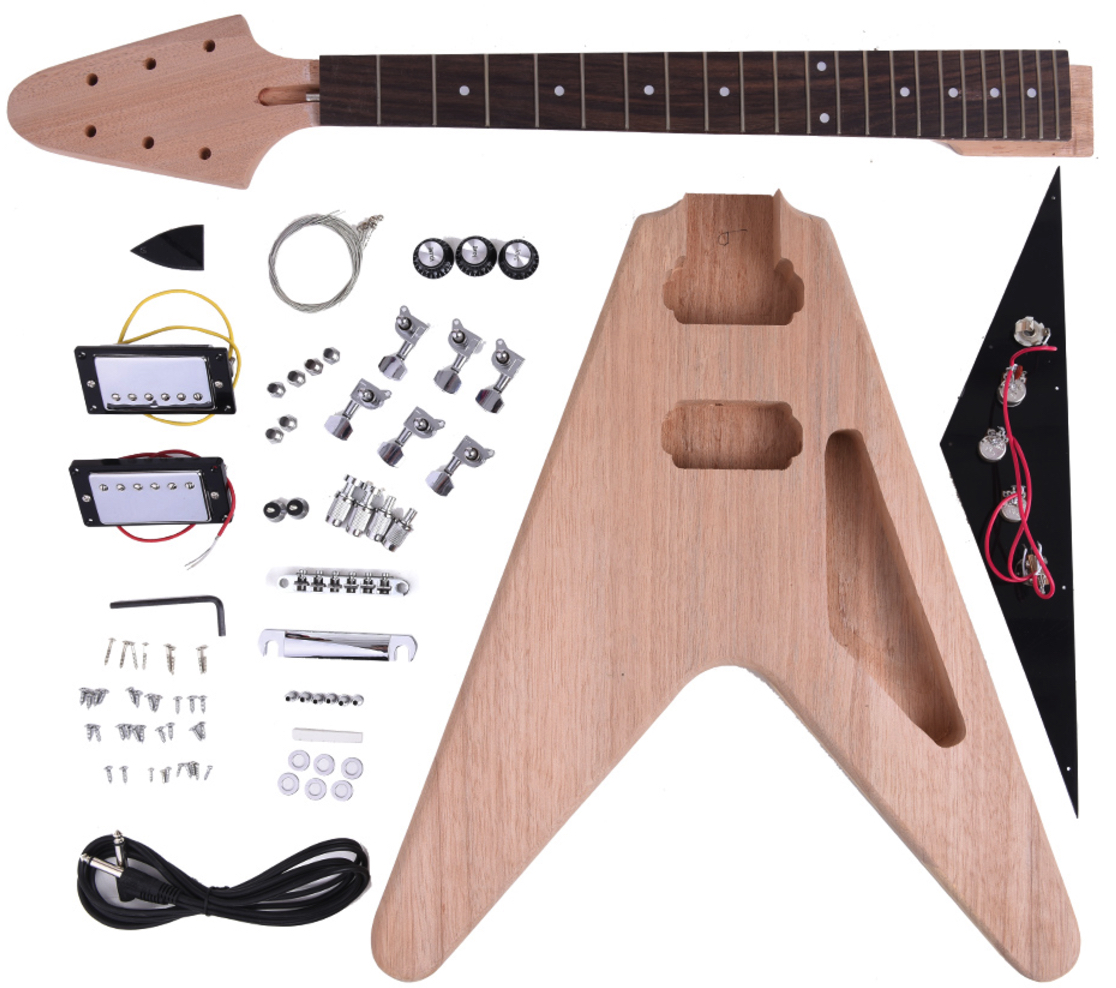 the best diy guitar kits electric under 300 gearank. Black Bedroom Furniture Sets. Home Design Ideas