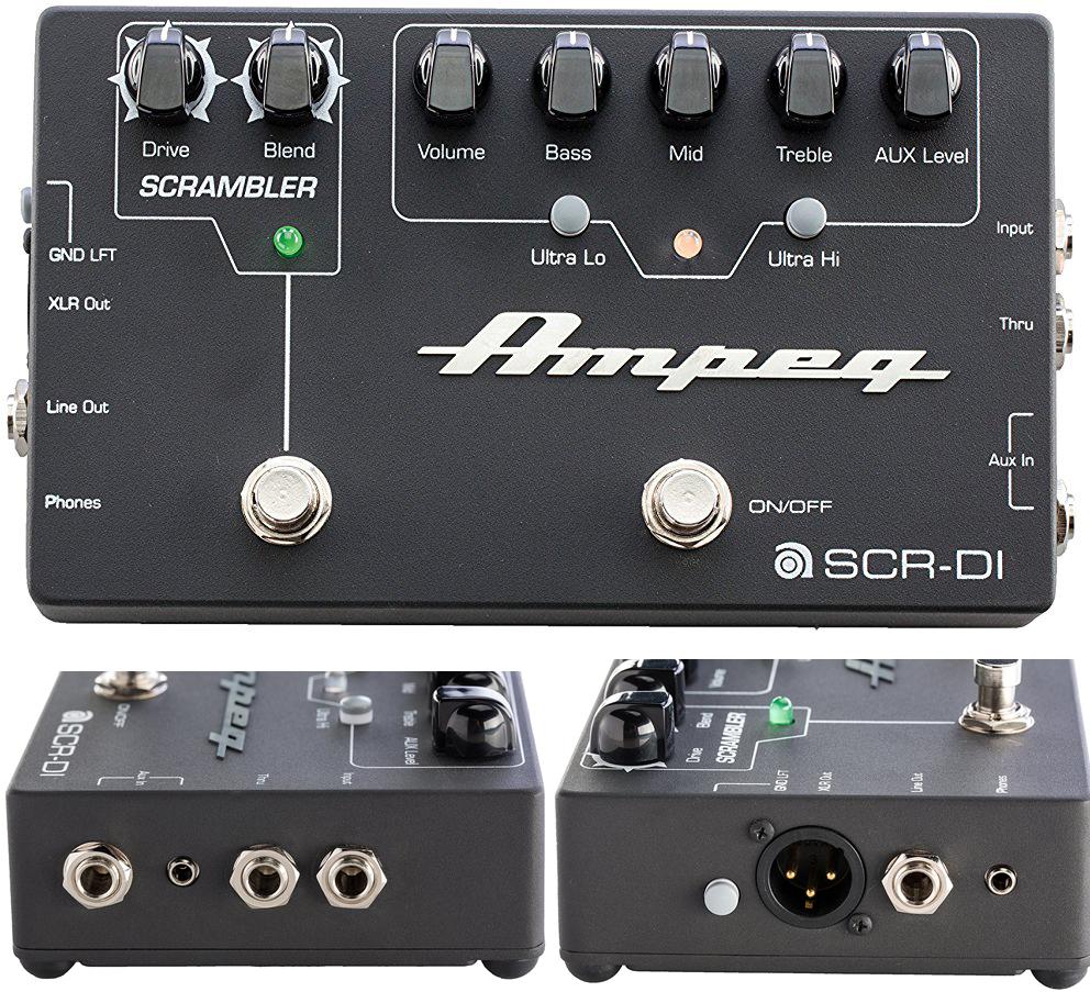 Ampeg SCR-DI Bass Preamp DI Pedal