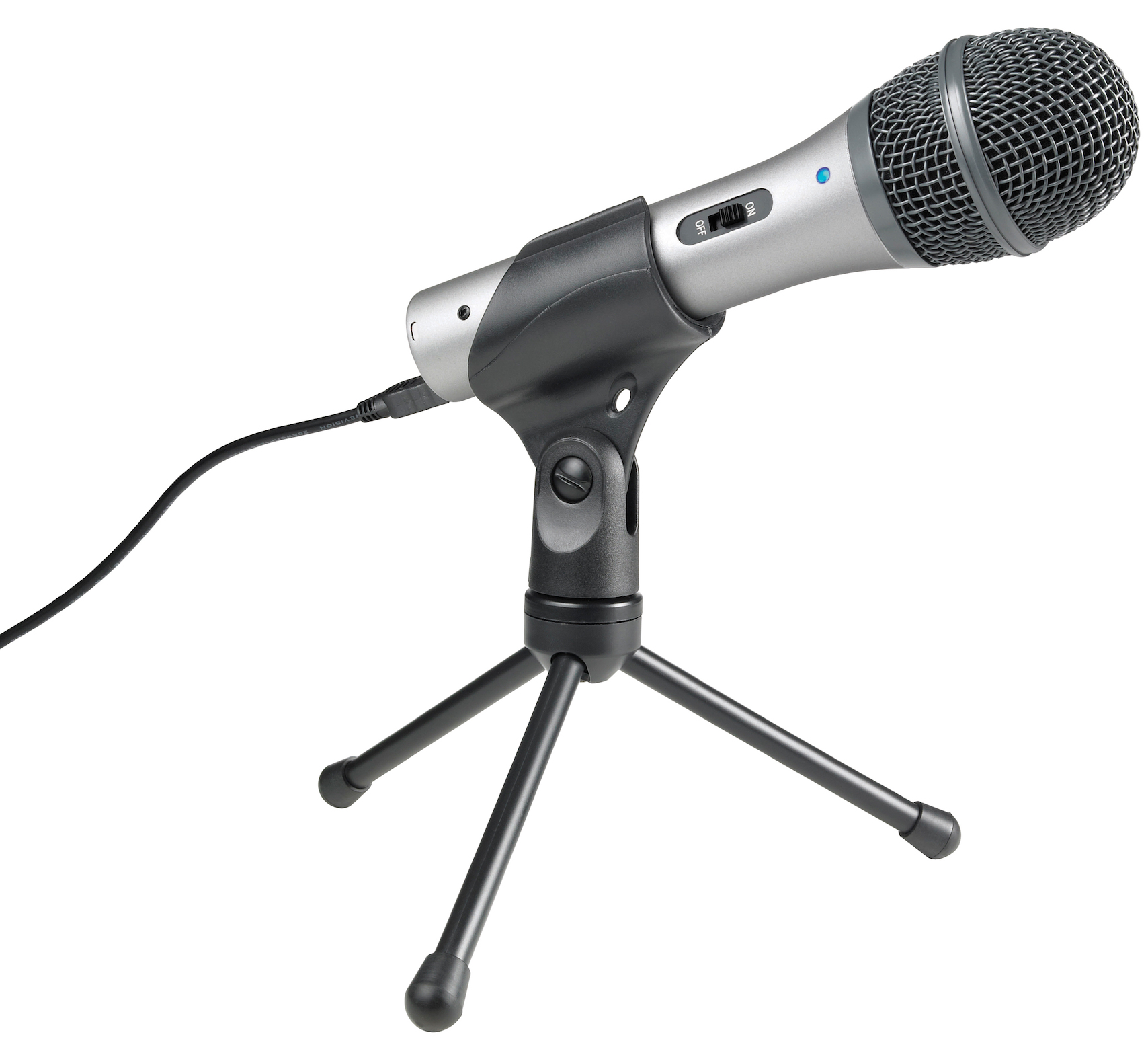 Audio-Technica ATR2100 Cardioid Dynamic XLR & USB Microphone