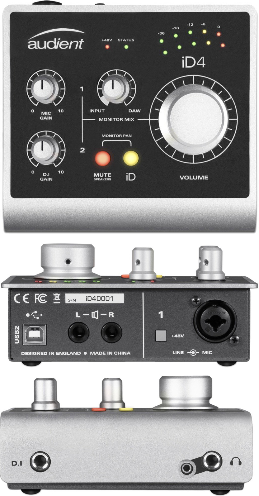 The Best Cheap Audio Interfaces Under 200 2018 Gearank Preamplifier With Dual Recording Audient Id4 Usb Interface 2 In Out