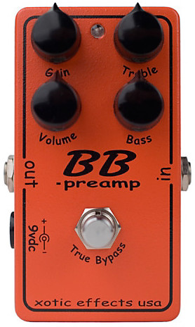 Xotic Effects BB Preamp Overdrive Pedal