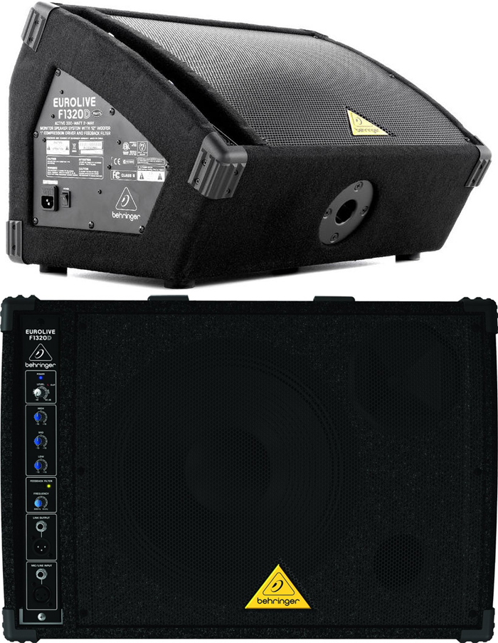 Behringer Eurolive F1320D Powered Monitor Speaker Cabinet