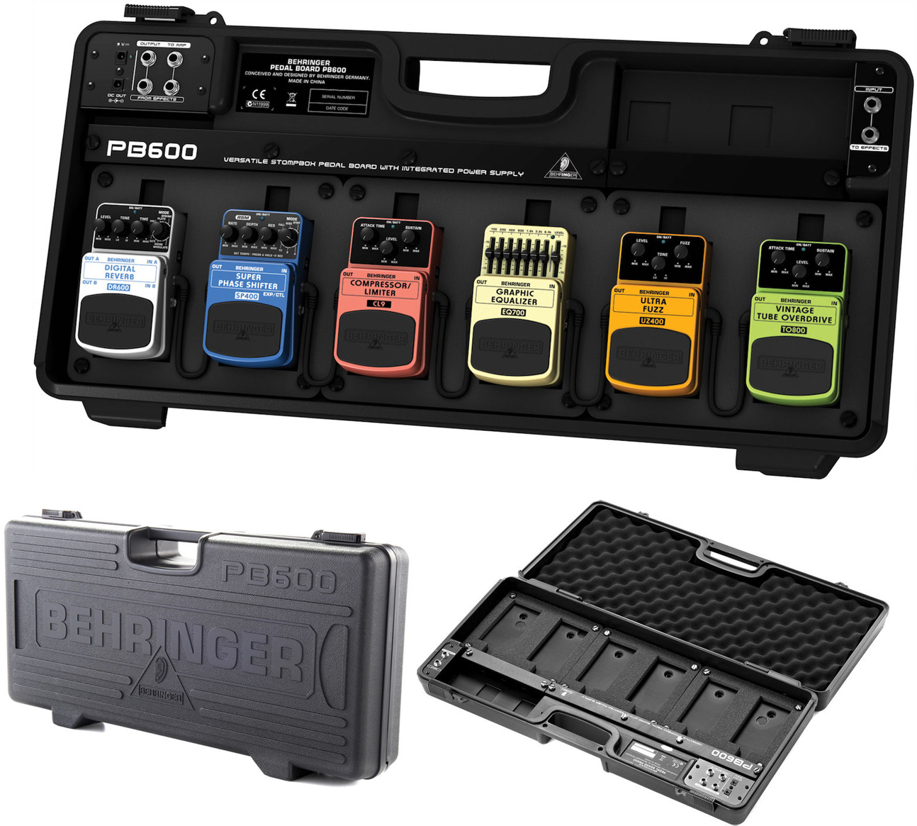 Behringer PB600 Powered Pedalboard