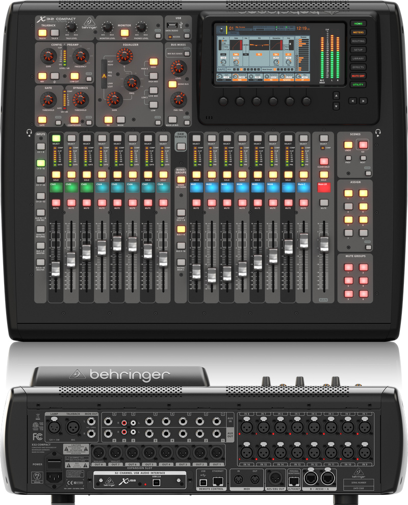 the best audio mixer consoles powered unpowered 2018 gearank. Black Bedroom Furniture Sets. Home Design Ideas